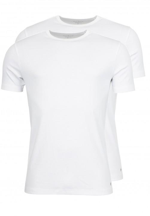 T-Shirt Rundhals Modern-fit, Weiß