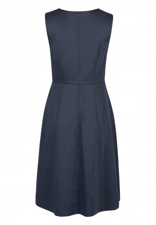 Kleid, nachtblau