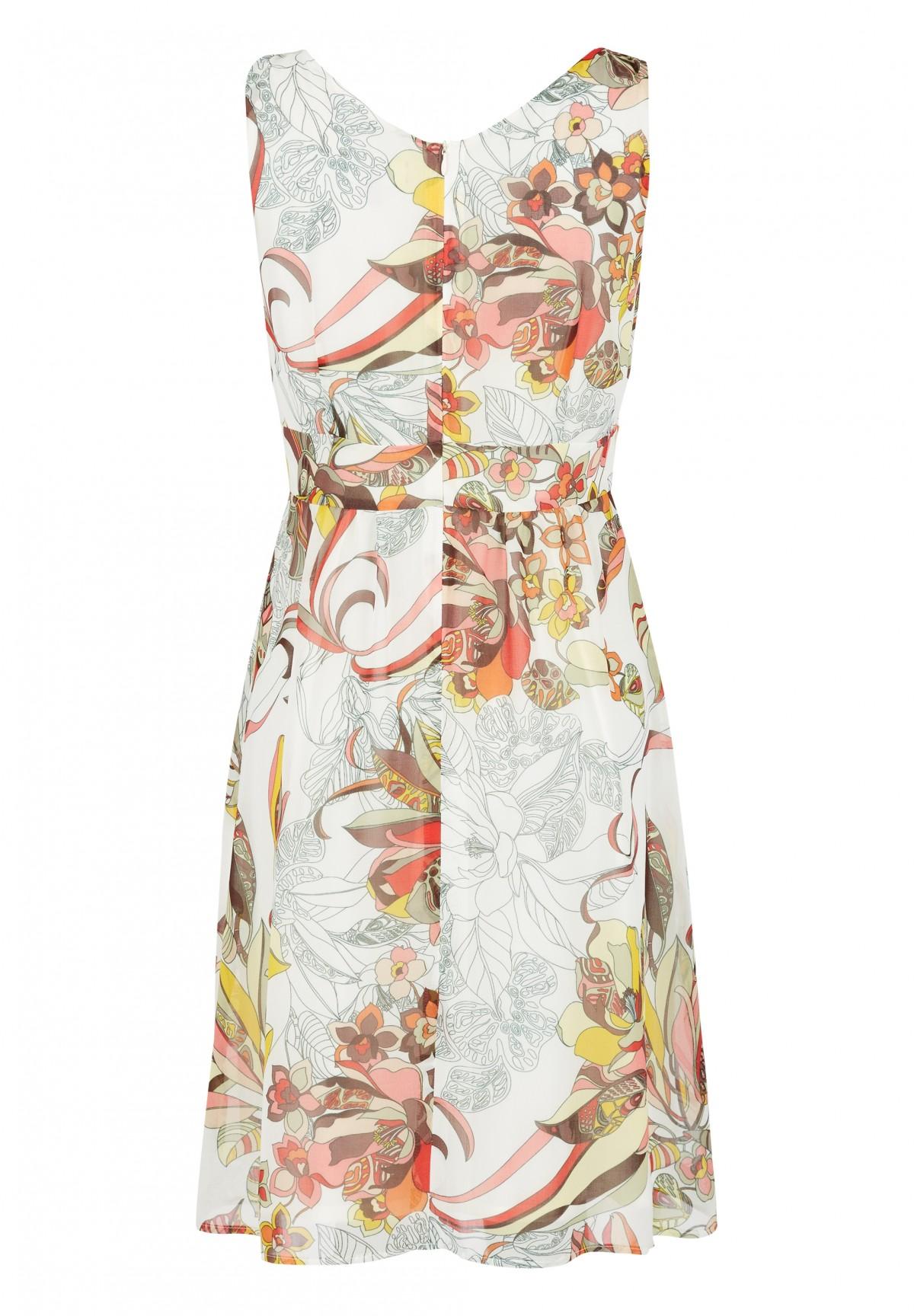 Kleid in Wickel-Optik / Kleid