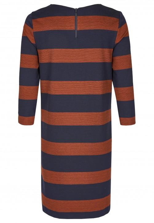 Jersey-Kleid, cinnamon