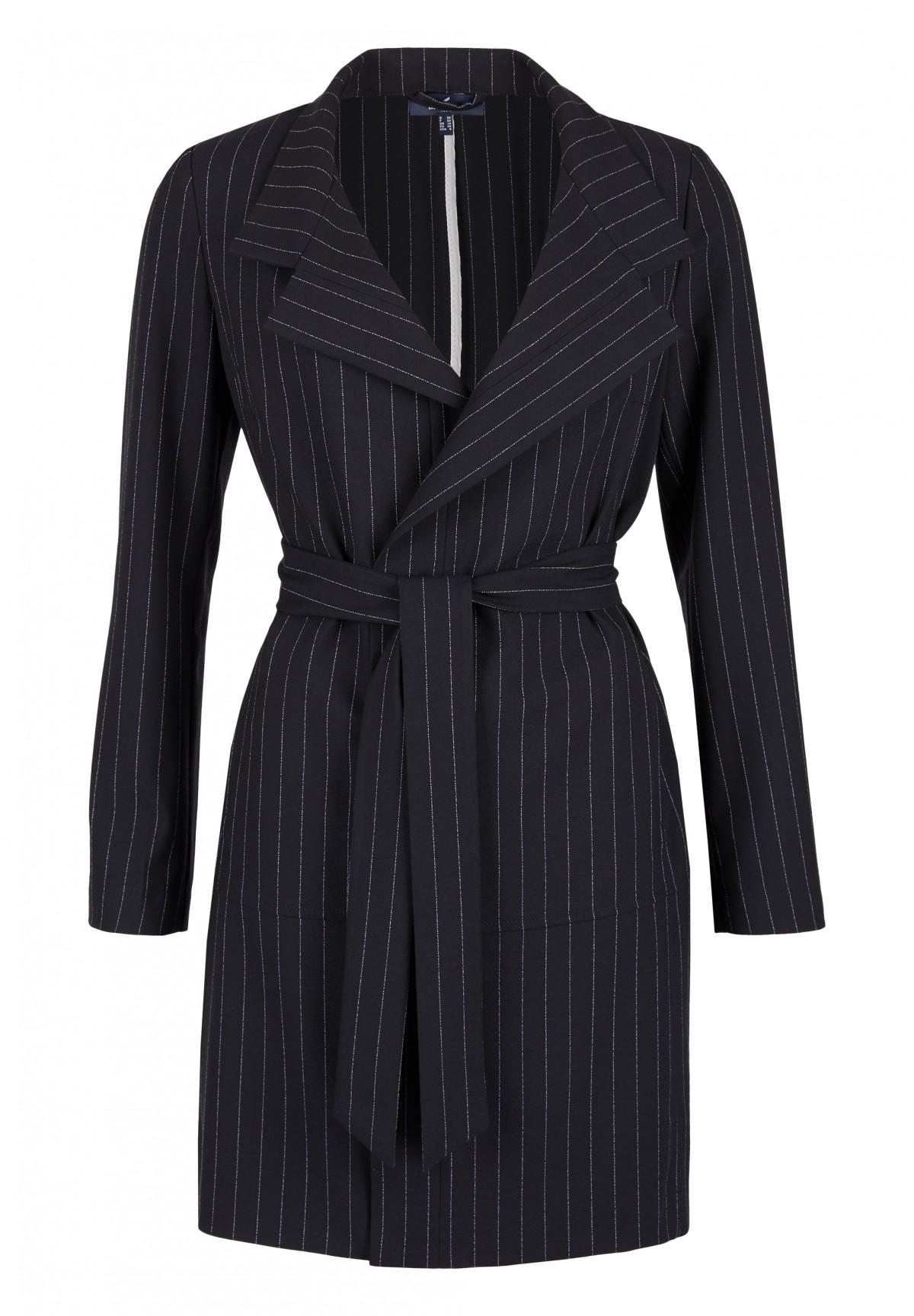 Mantel mit Oversize-Kragen / Mantel