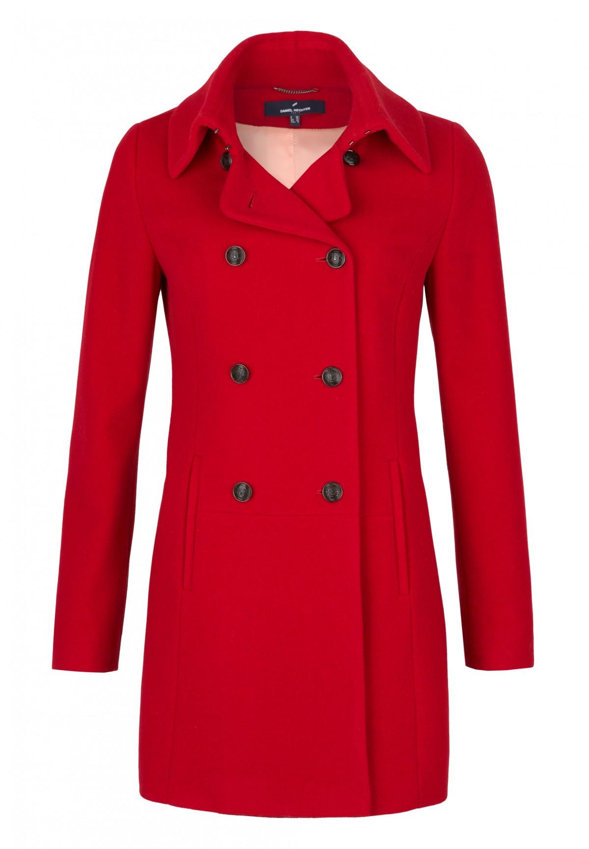 Manteau à double-boutonnage /