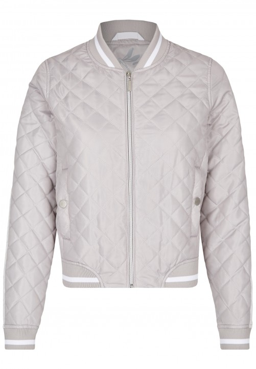 Sportlicher College-Steppblouson, grey
