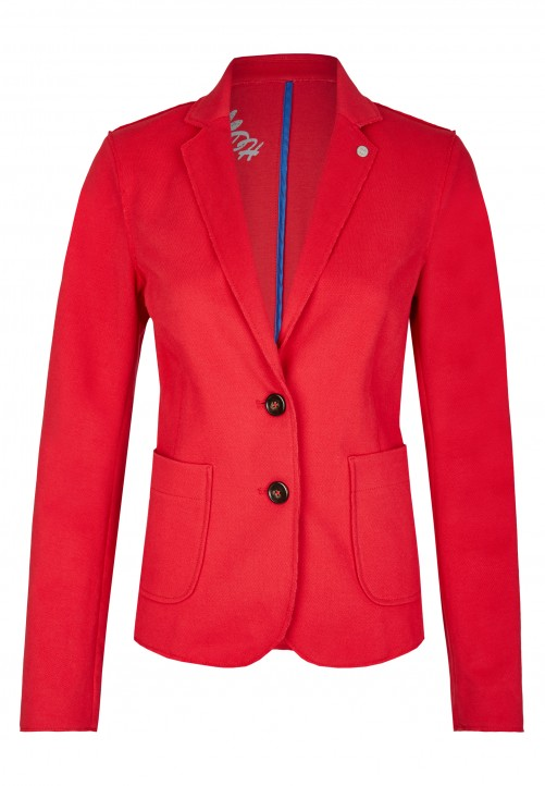 Pique Blazer, indian red