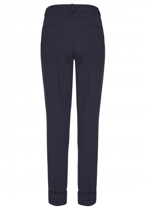 Trousers, midnight blue