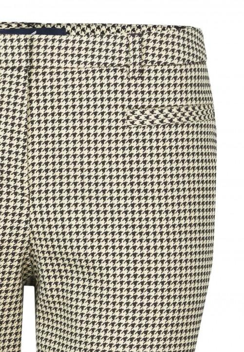 Klassische Hose mit Bügelfalte, beige