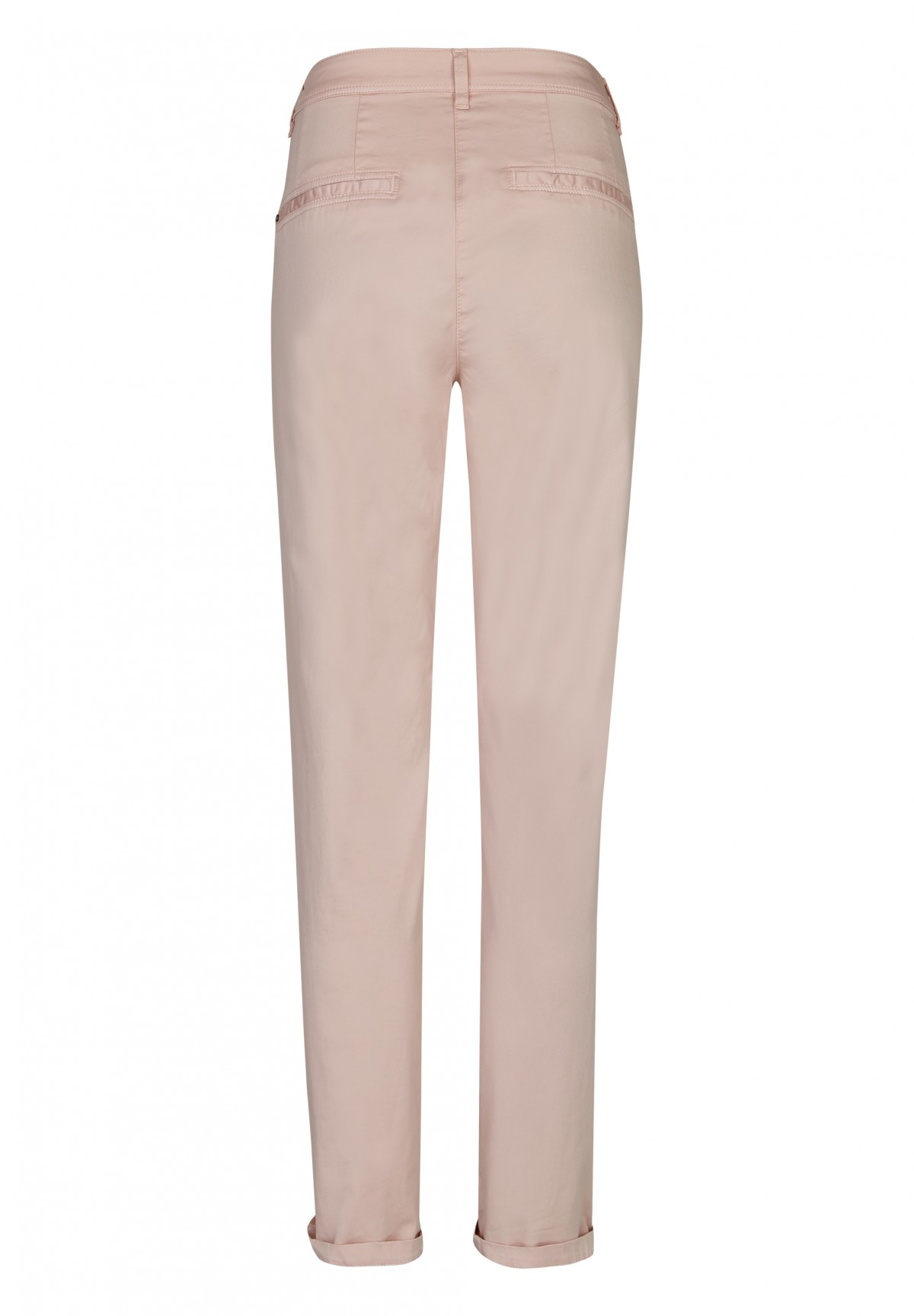 Pantalon droit 5 poches en coton/ élasthane /