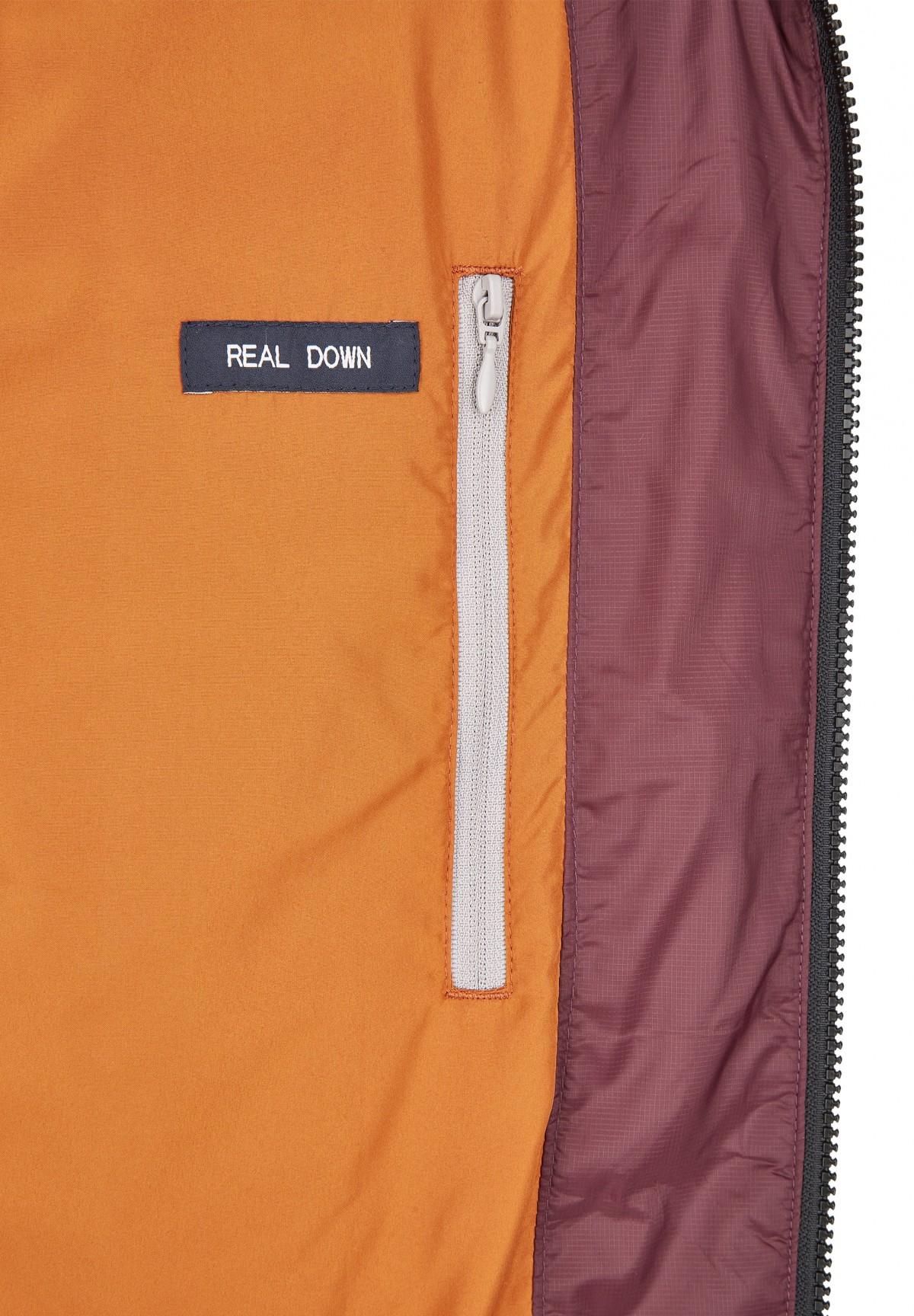 Doudoune poches boutonnées /