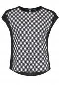 Bluse mit Karo-Muster