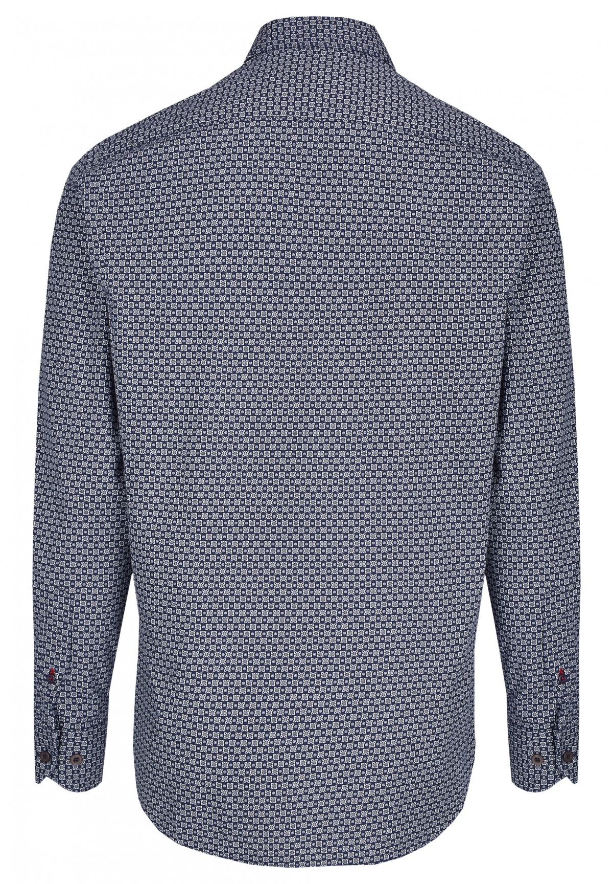 Chemise à micro-motifs /