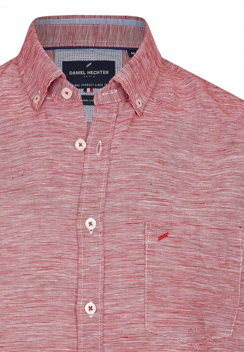 SHIRT MODERN FIT, oxblood