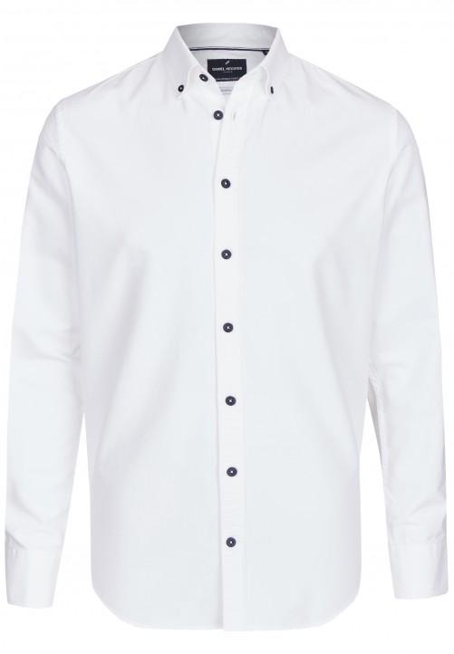 Sportiv-elegantes Freizeithemd, white