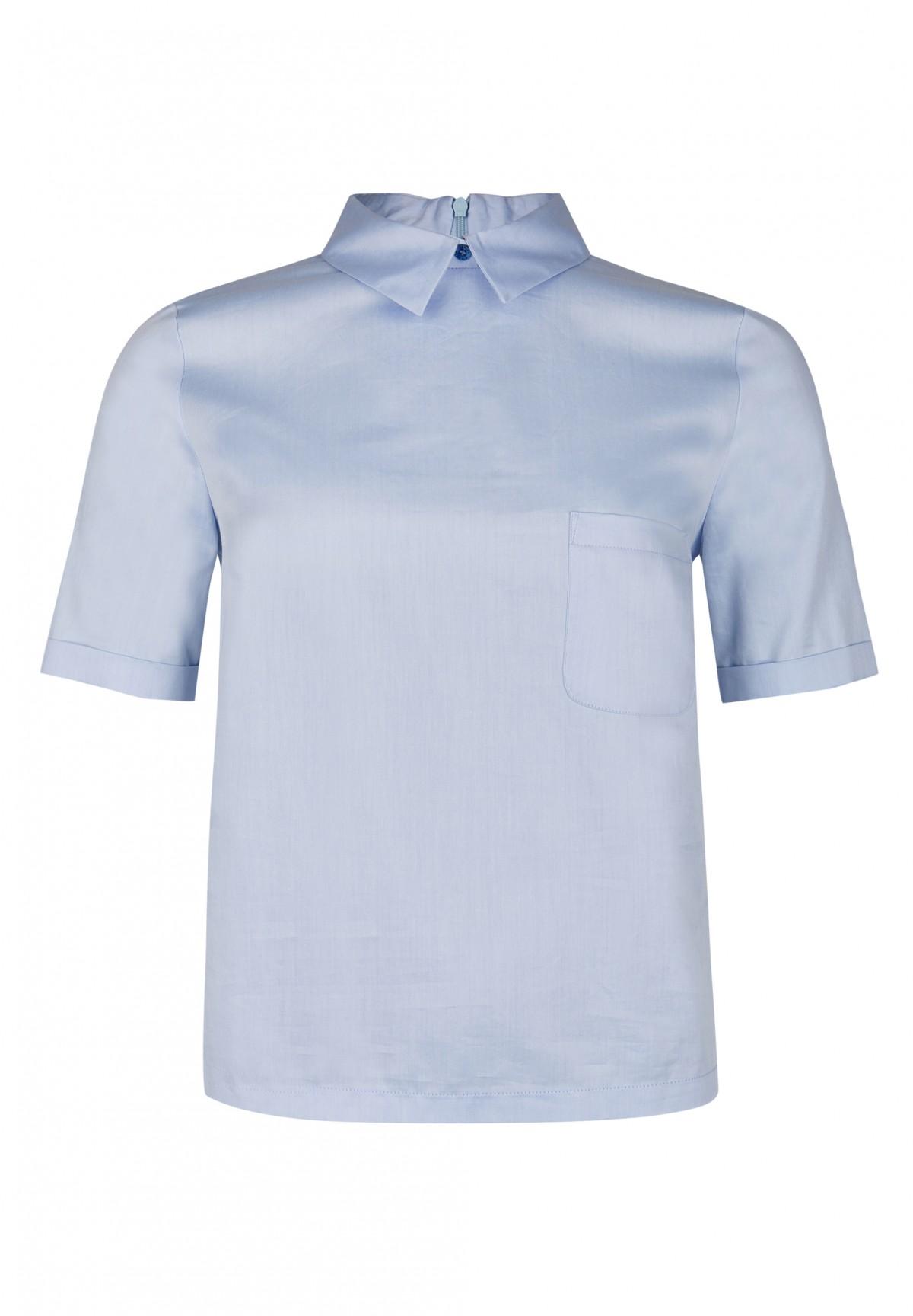 Modernes Shirt mit Brusttasche / Blouse