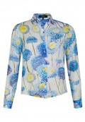 Modische Bluse mit floralem Druck