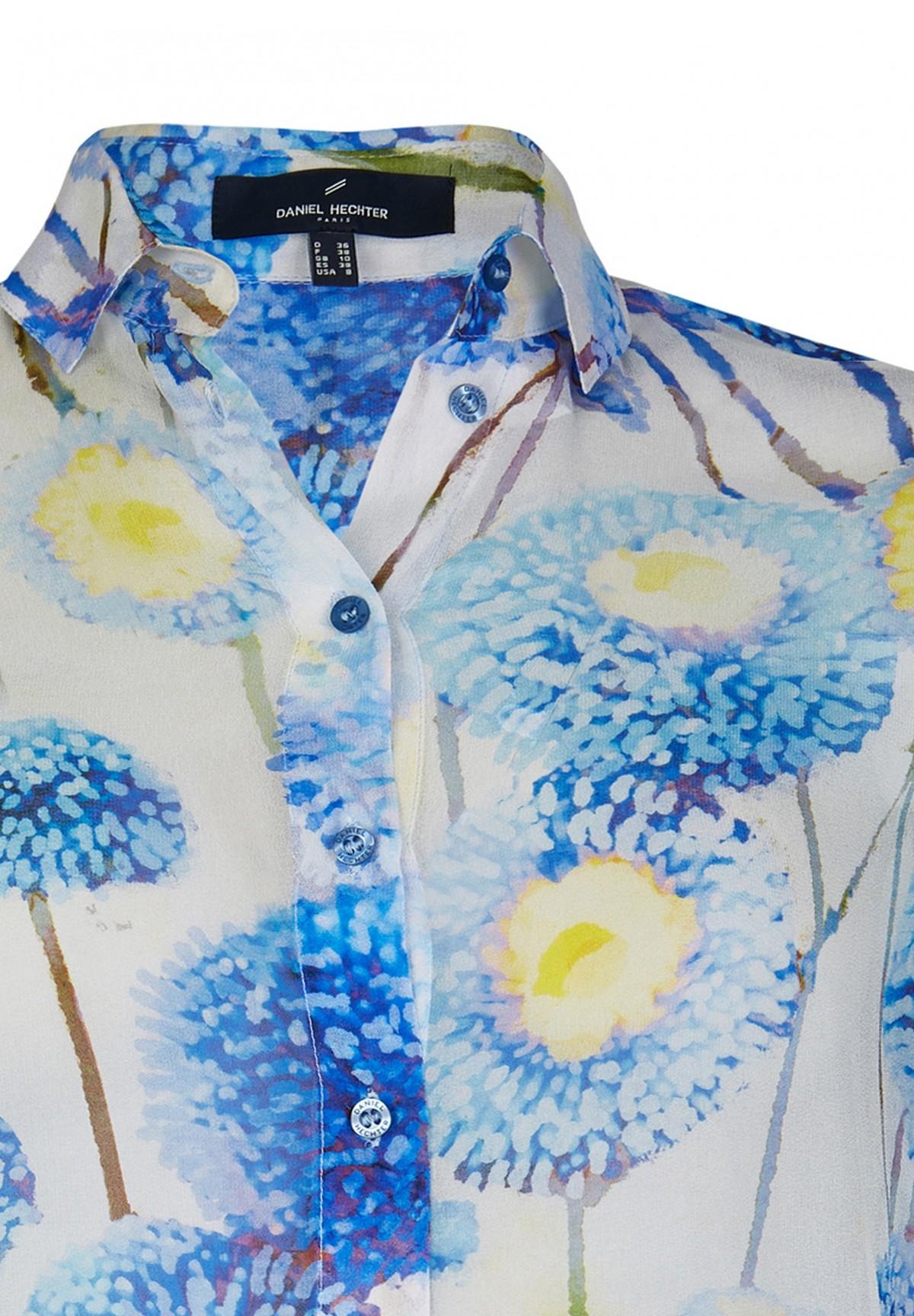 Modische Bluse mit floralem Druck / Blouse