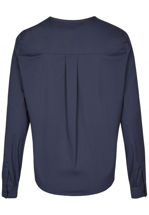 Modische Bluse, midnight blue