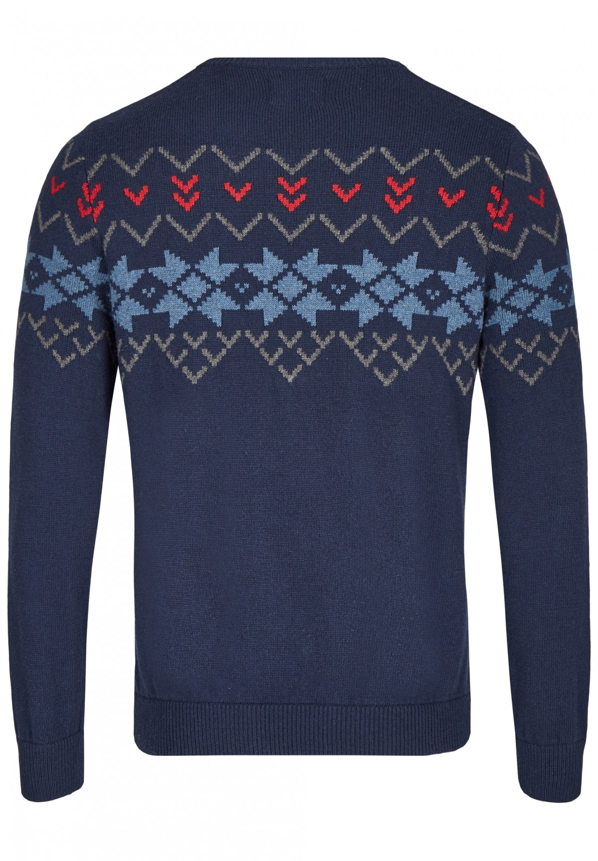 Pullover im Norweger Look / Pullover im Norweger Look
