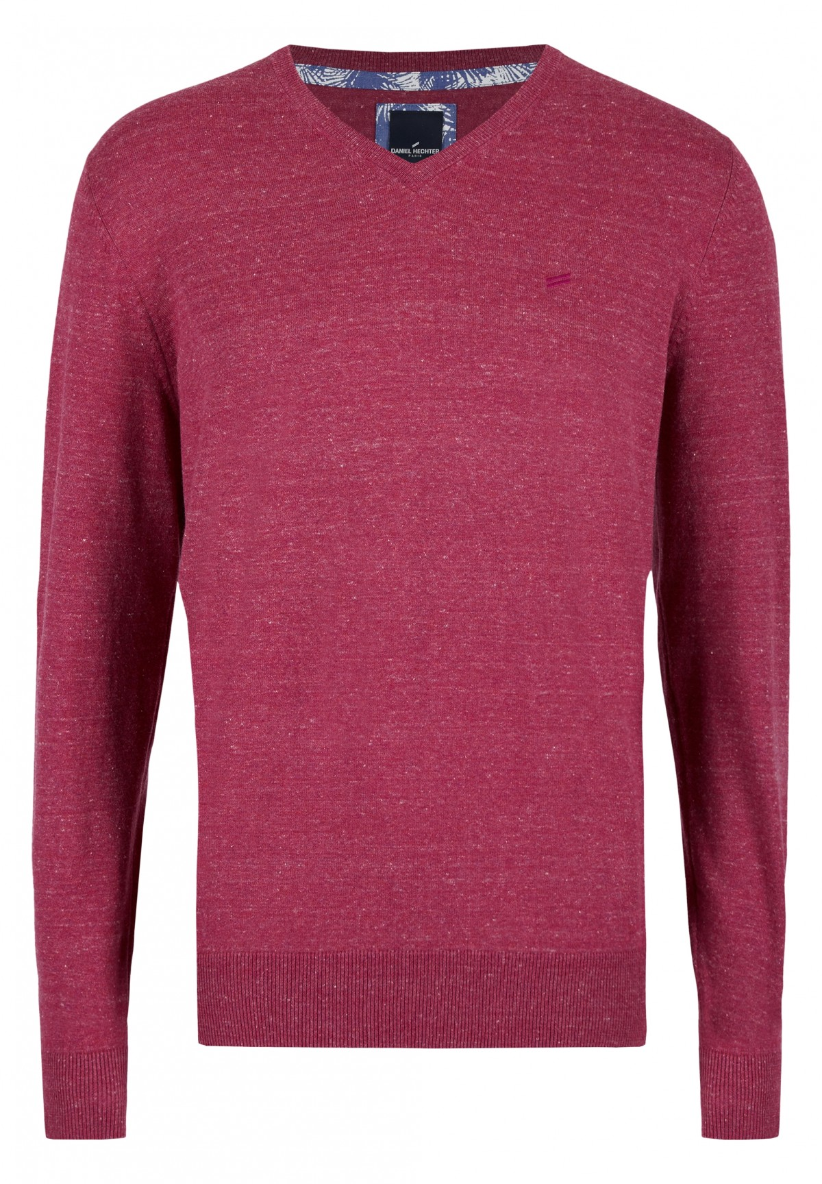 Basic-Pullover mit V-Ausschnitt / VNECK