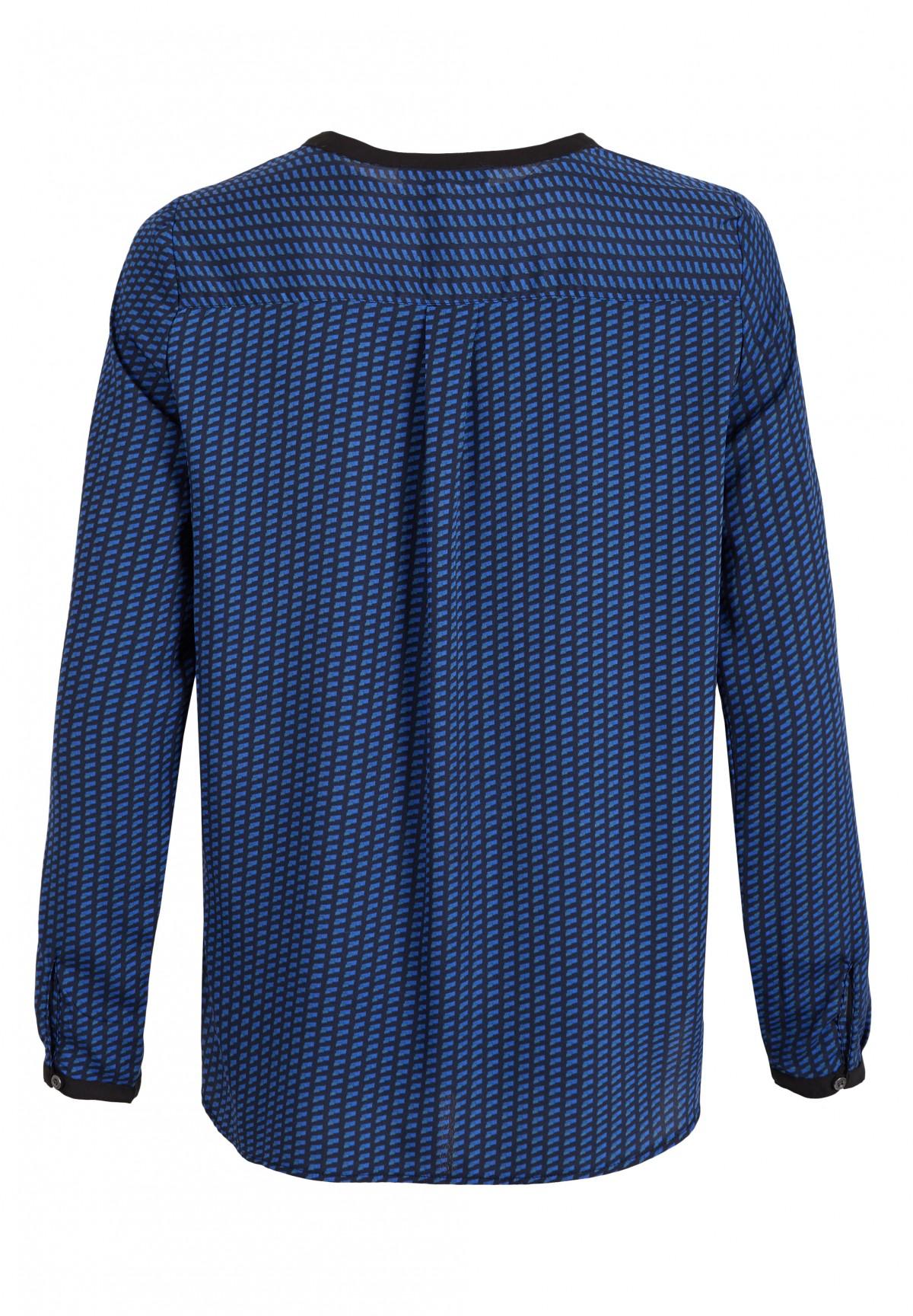 Hübsche Bluse mit V-Ausschnitt / Bluse