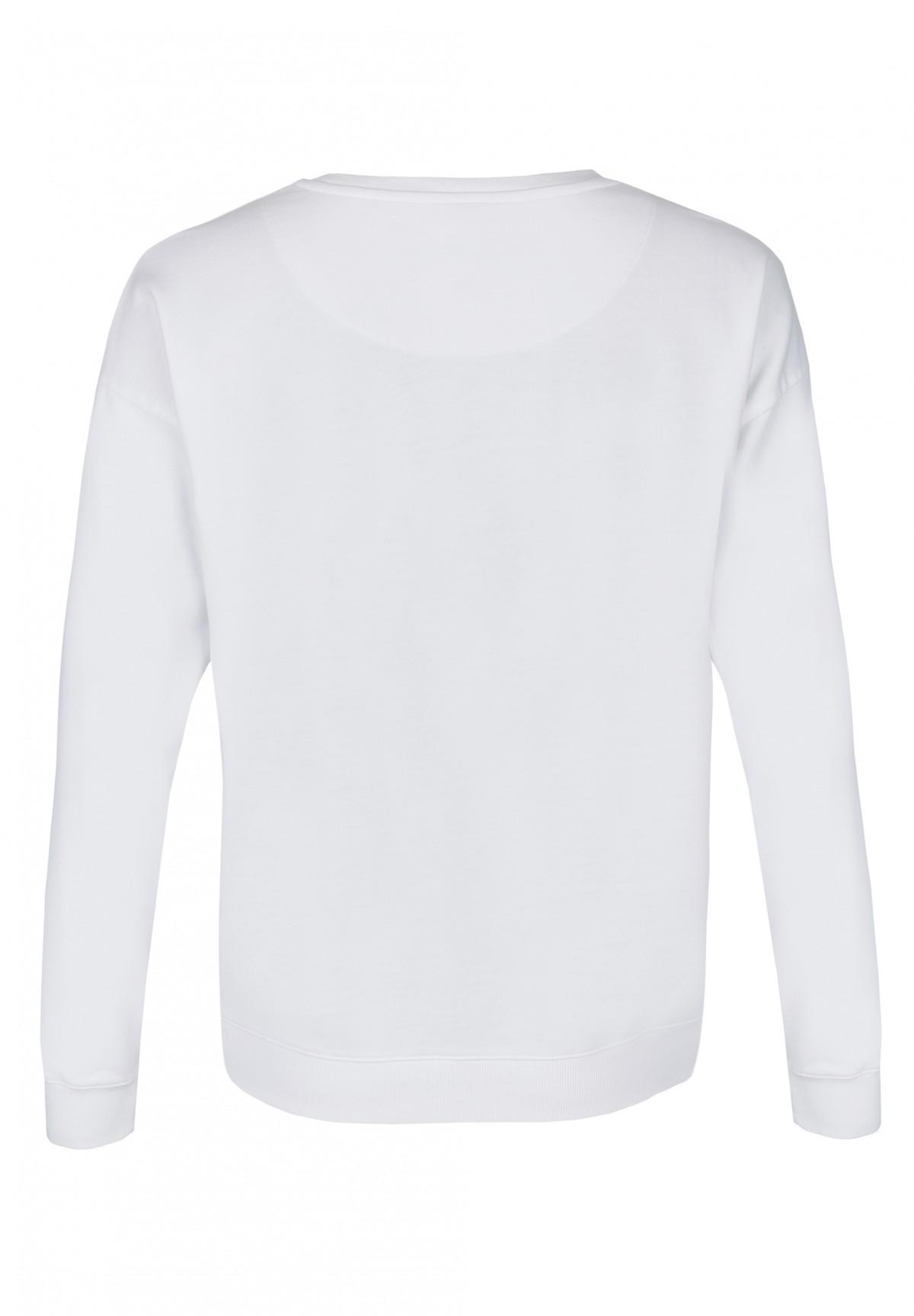 Sportiver Pullover mit Print / Sweatshirt