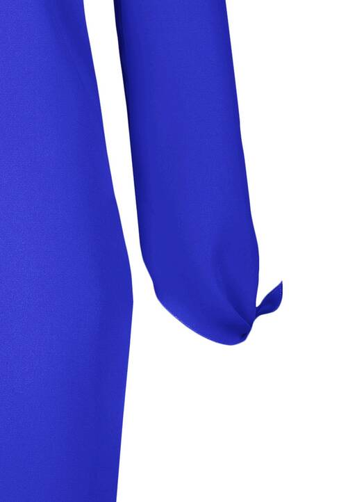 Dress, royal blue