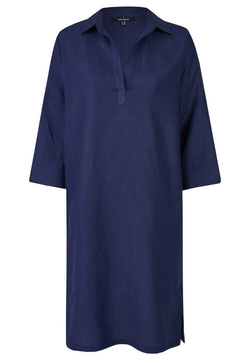 Linen Dress, navy