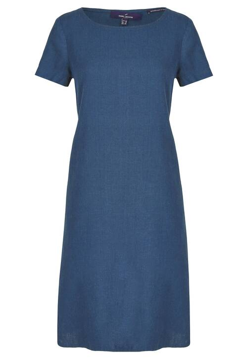 Dress, indigo