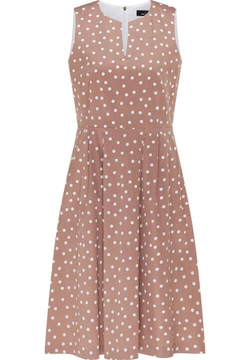 Dress, hazelnut