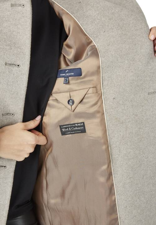 Coat, taupe