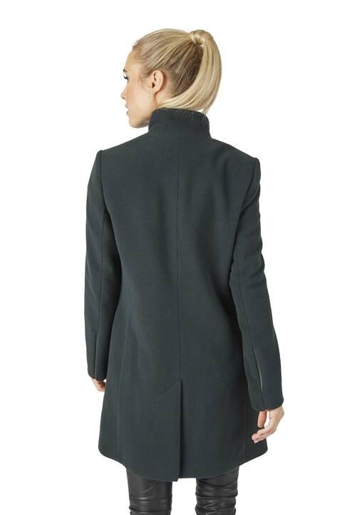 Coat, dark olive