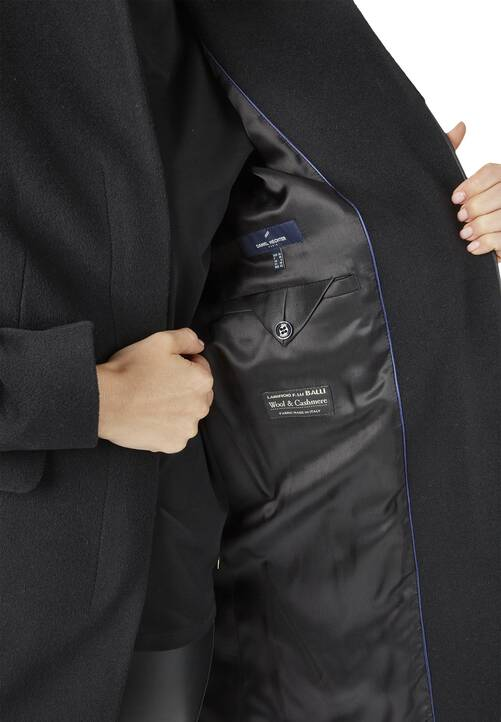 Coat, black