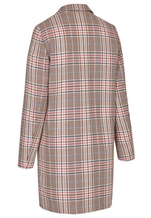 Check Coat, pink