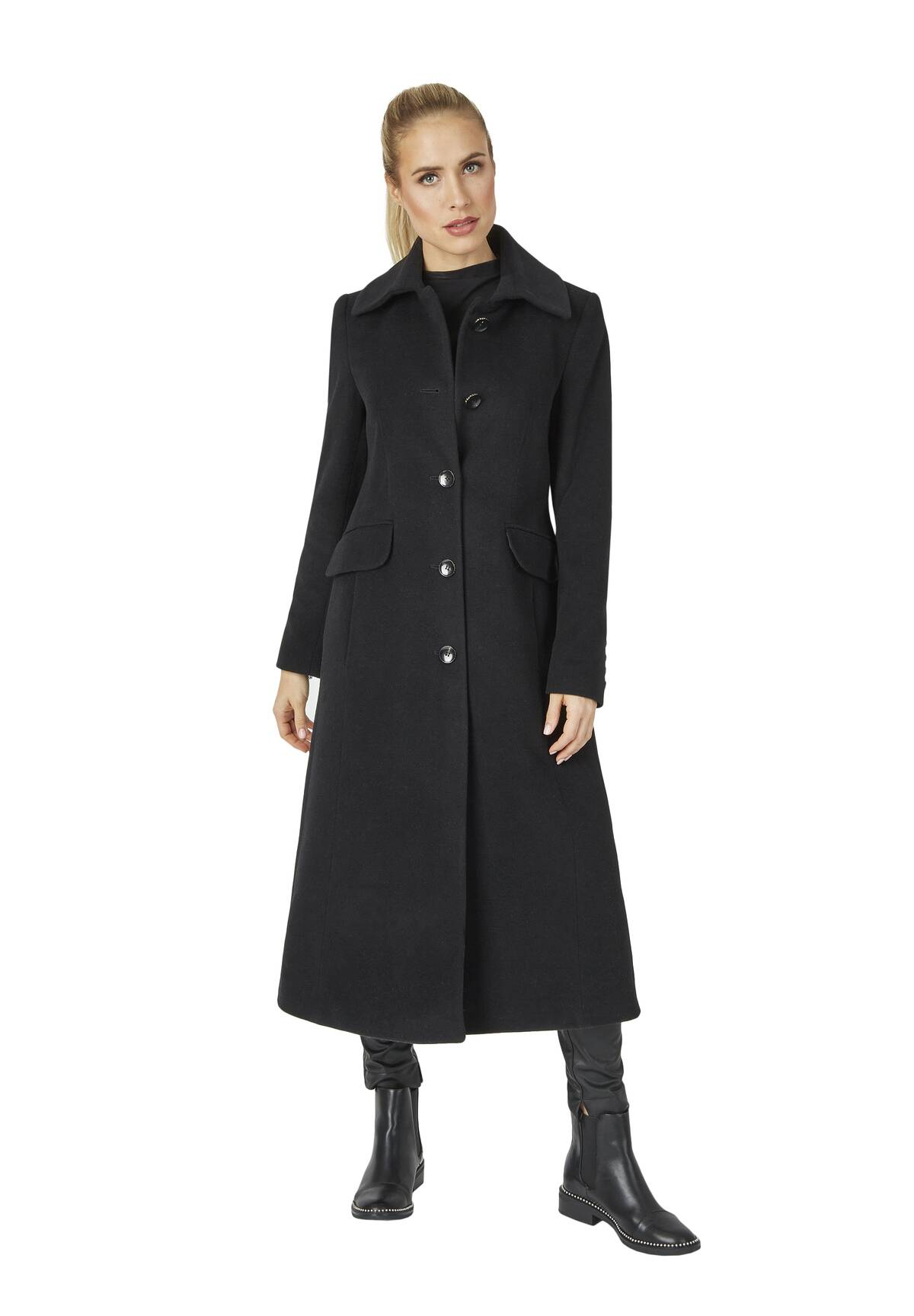 Manteau long cintré /
