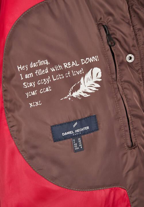 Down Jacket, iron