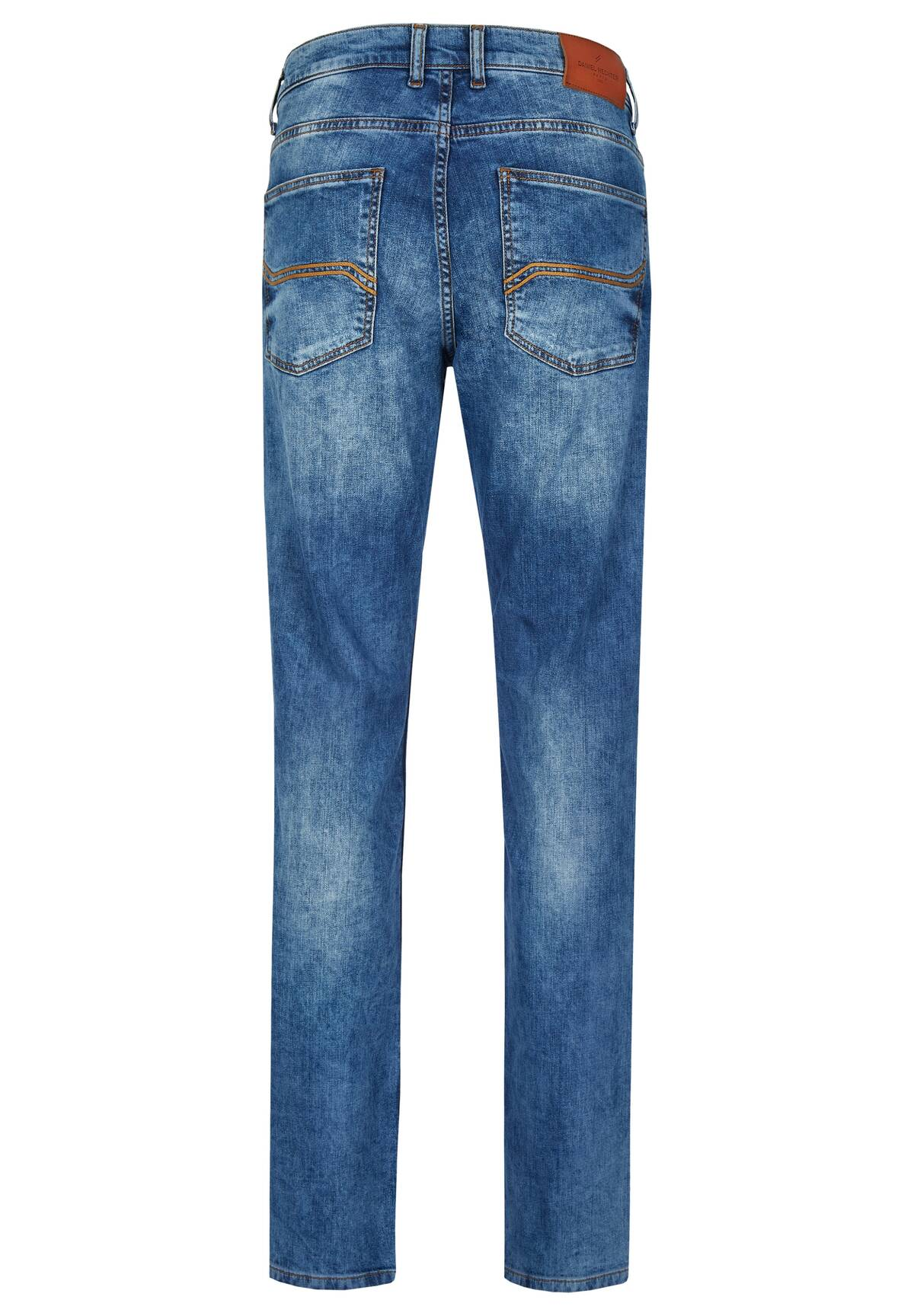 Jeans 5 poches coupe droite /