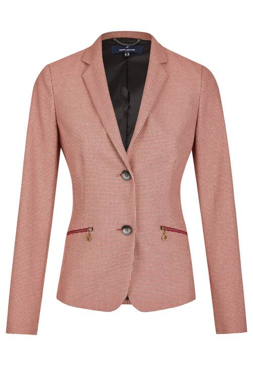 Sporty Blazer, beet red