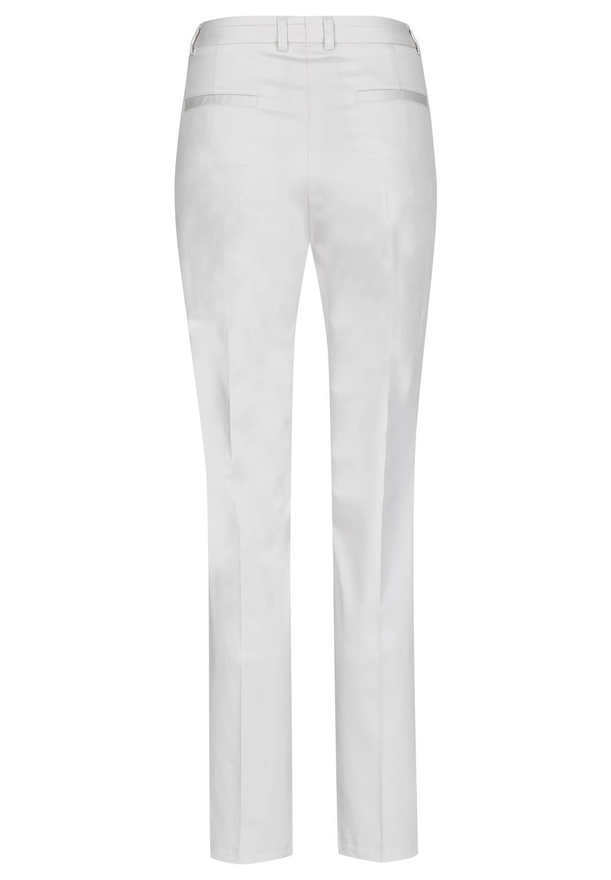 Pantalon cigarette uni /