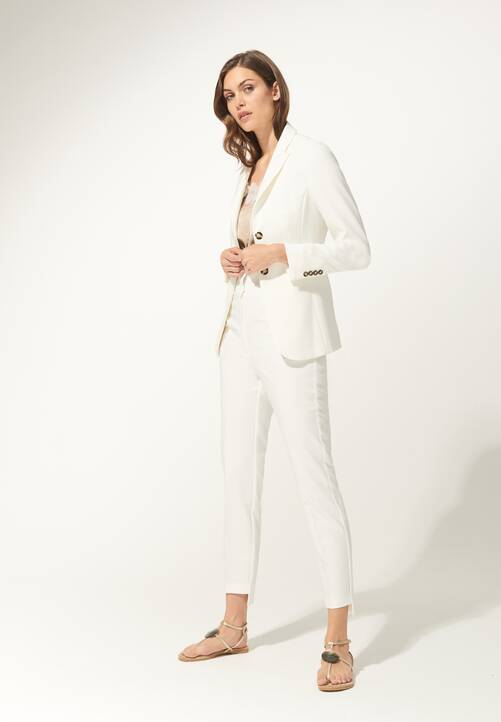 Trousers, offwhite