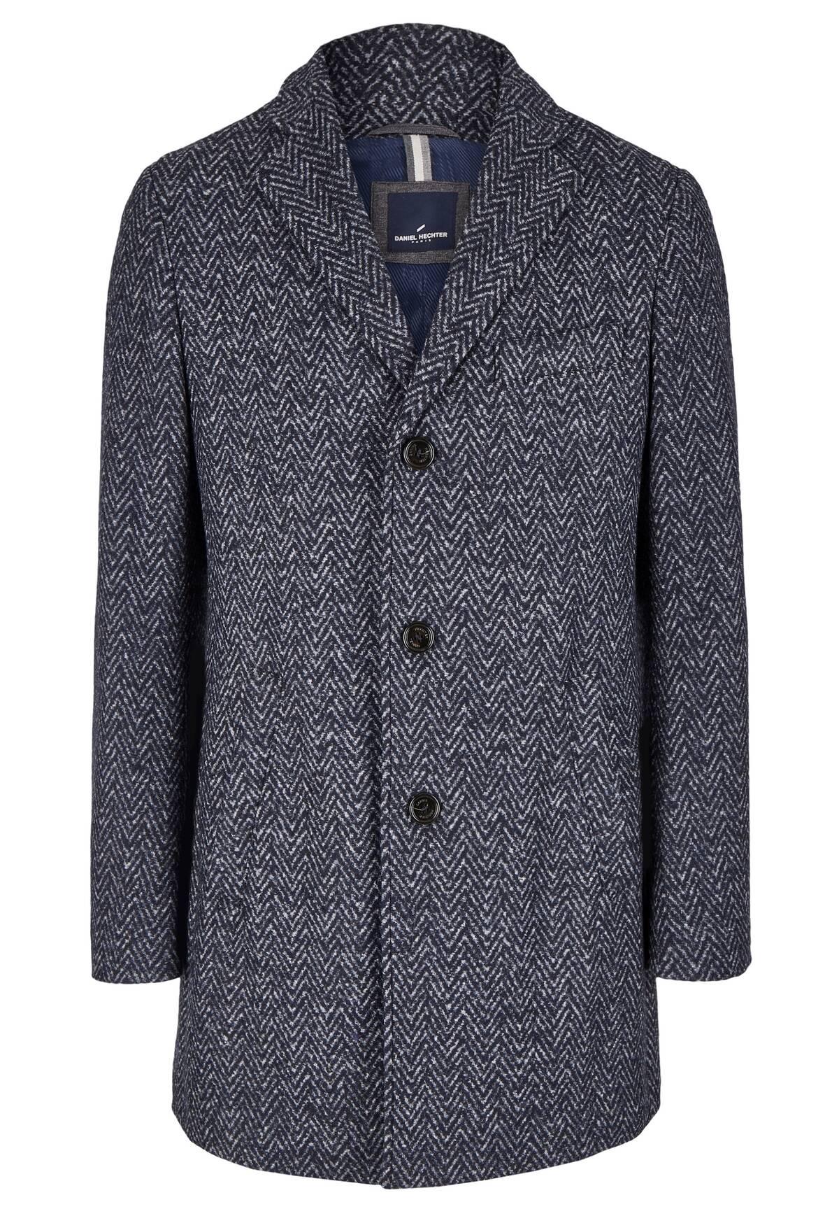 Manteau à chevrons /