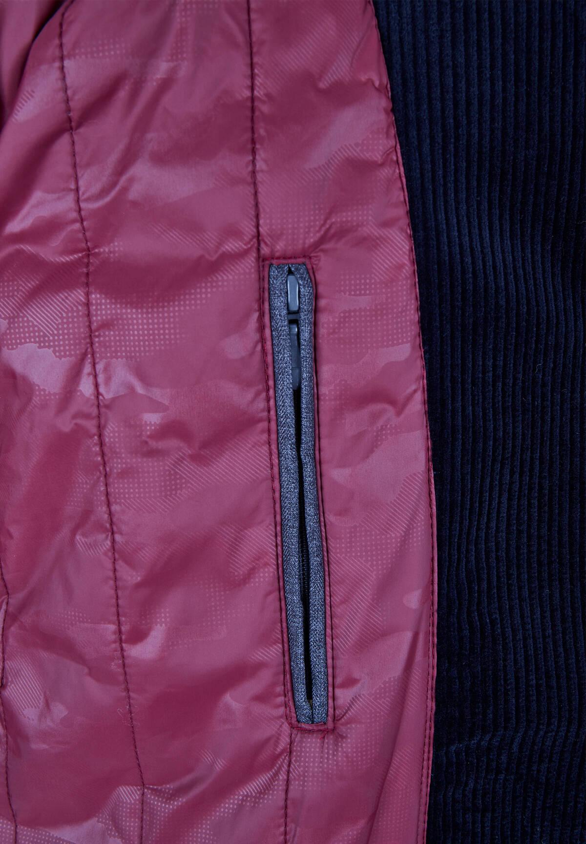 Manteau en velour côtelé /