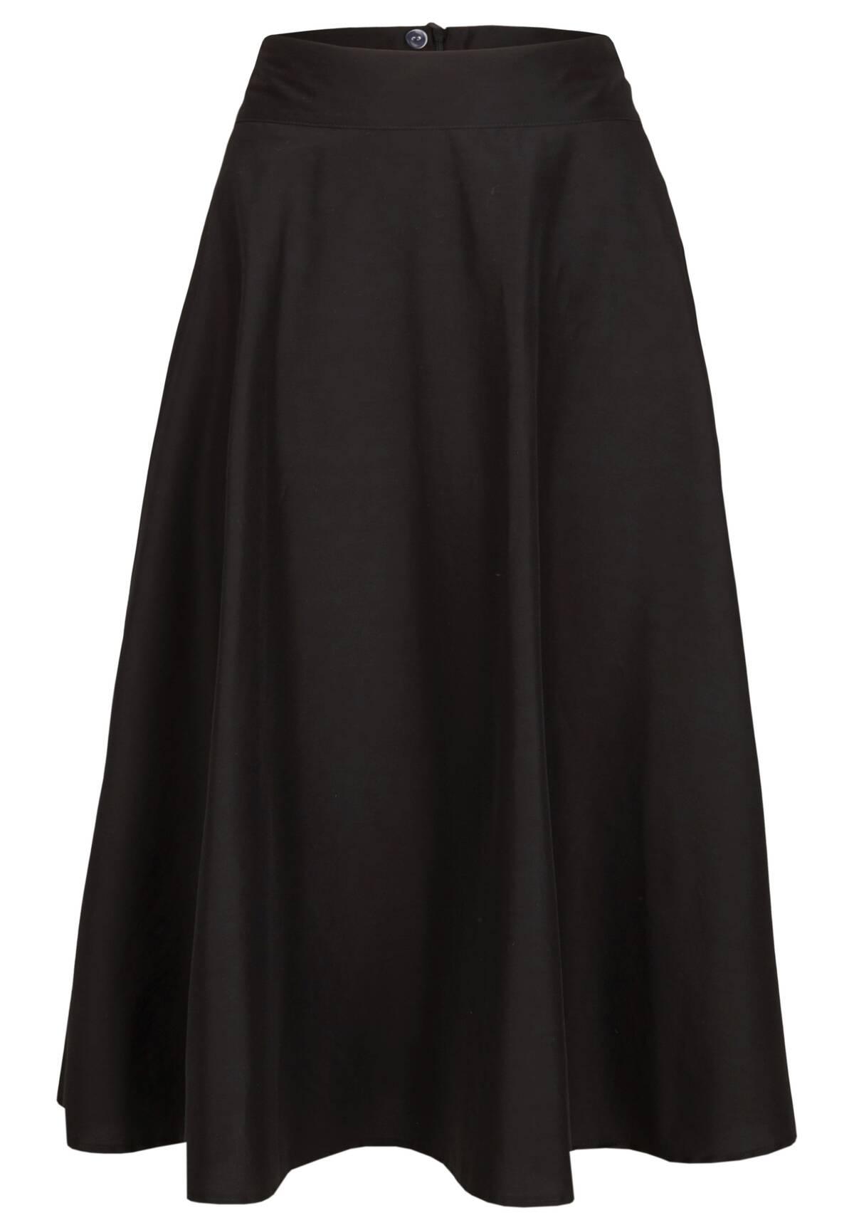 Moderner Rock / Feminine Midi Skirt