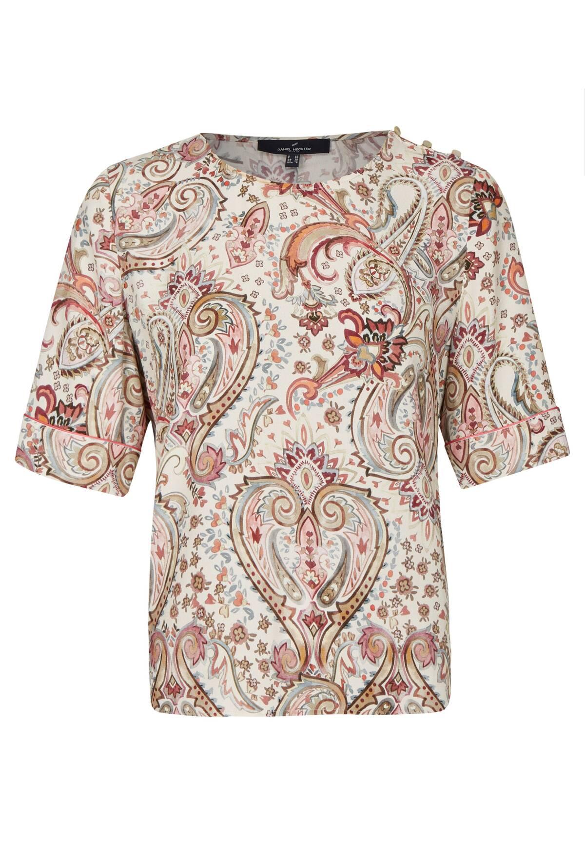 Modische Bluse im Paisley-Design / Shirt Blouse