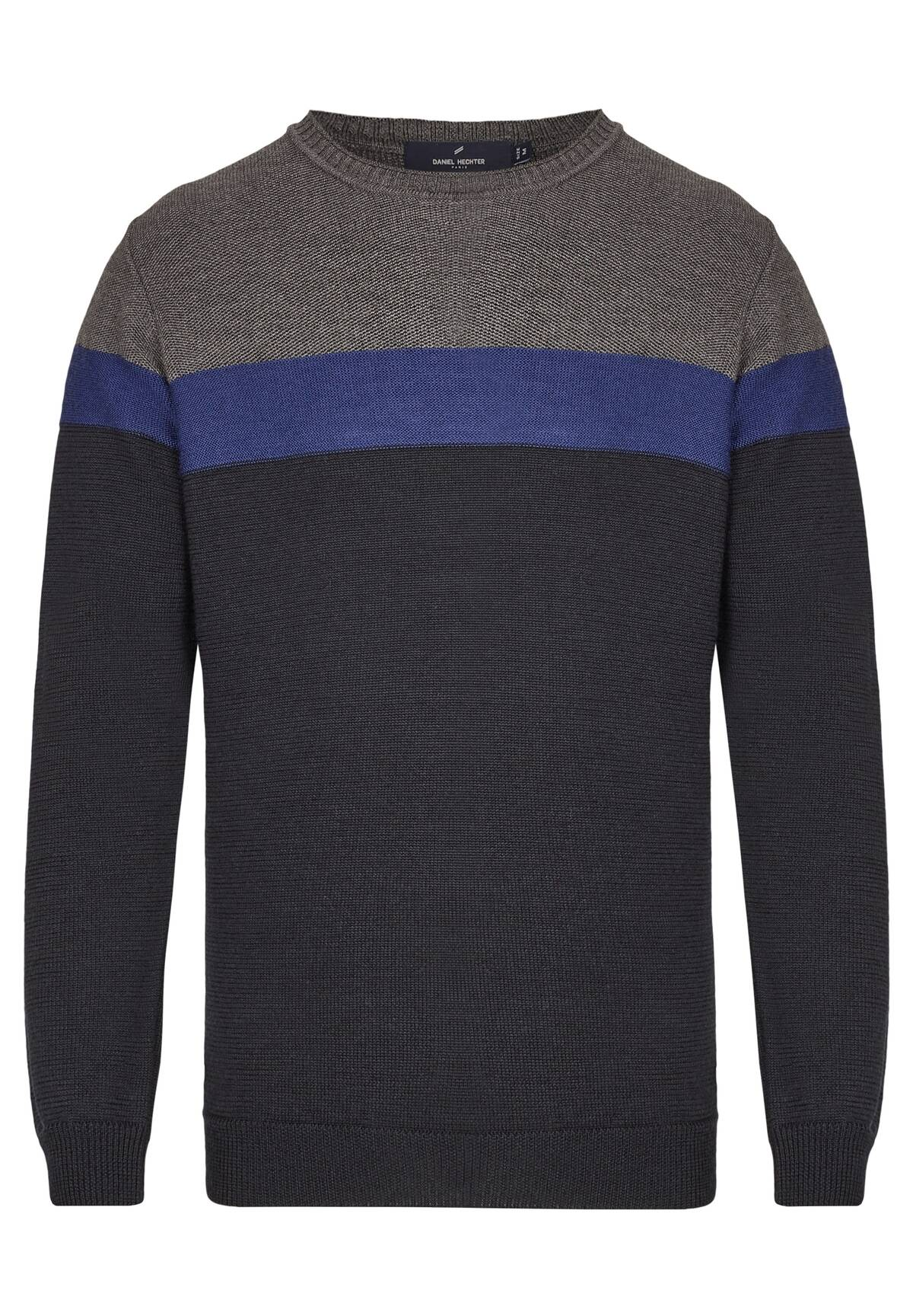 Pull en maille tricolor DH ECO /