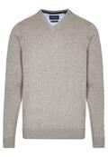 Essential-Pullover mit V-Ausschnitt