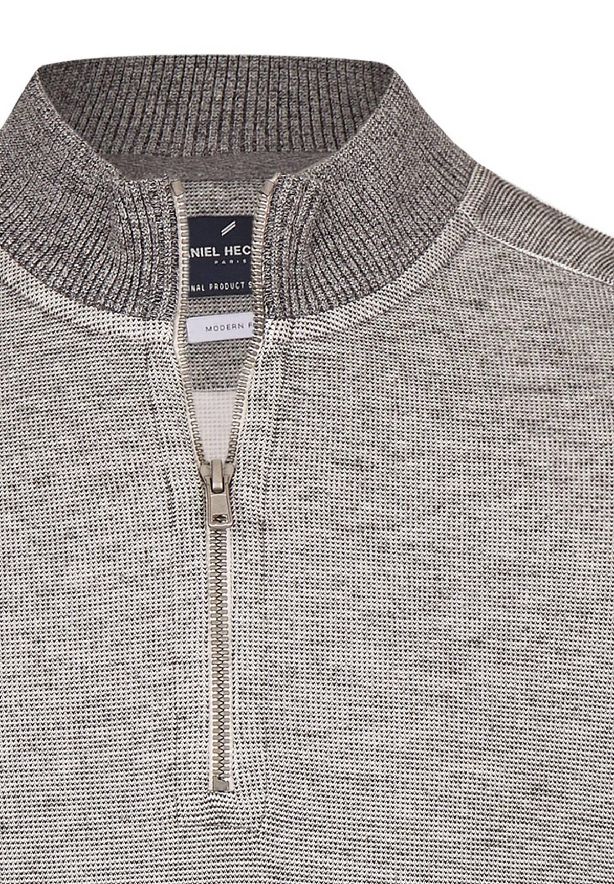 Sweatshirt zippé /