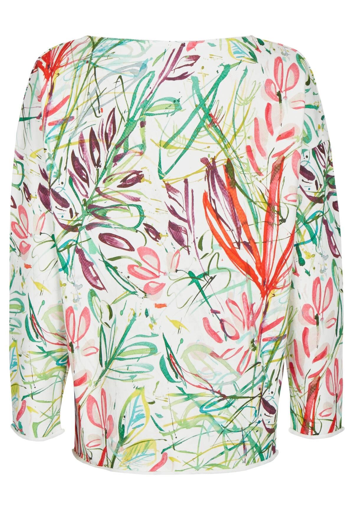 Florales Shirt / Sweatshirt