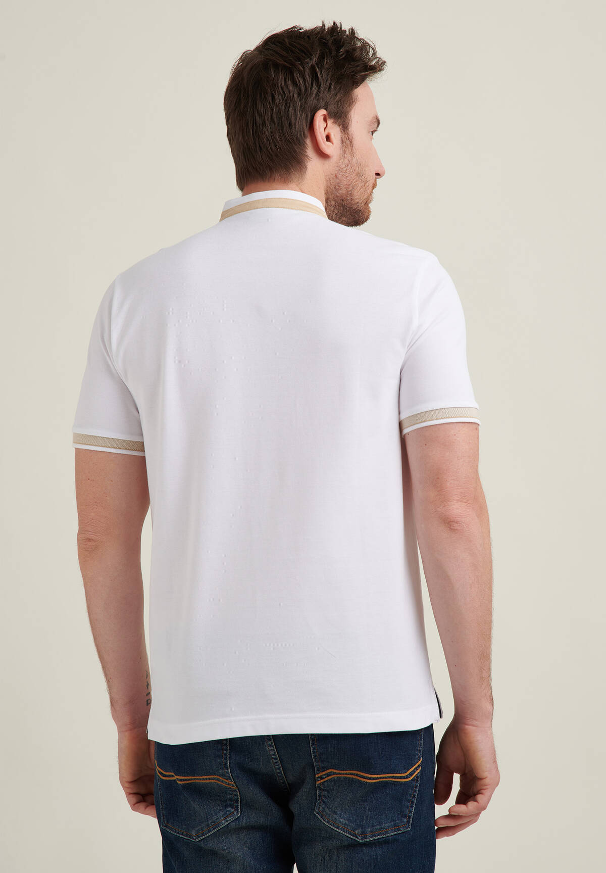 Modern-Fit Polo Basic Piqué / POLO PIQUEE STAND UP