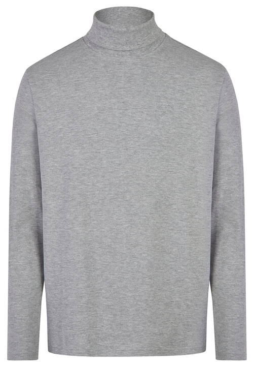 T-SHIRT ROLLNECK, silver