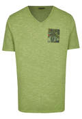 T-shirt chiné uni