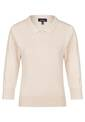 Polo Neck Jumper, light pink
